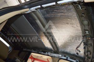 Шумоизоляция на BMW X3 фото 1