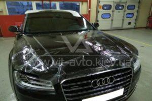 Антигравийная пленка на Audi A8 фото 1