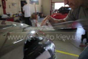 Антигравийная пленка на Kia Sportage фото 7