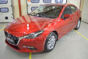 Нанокерамика на красную Mazda 3 фото 1