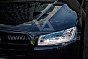 Нанокерамика на Audi S8 фото спереди