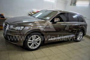 Фото нанокерамики на Audi Q7 - 1