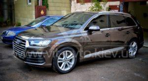 Фото нанокерамики на Audi Q7 - 4