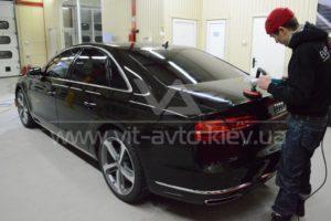 Фото полировки Audi A8