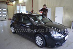 Фото полировки авто Volkswagen Golf