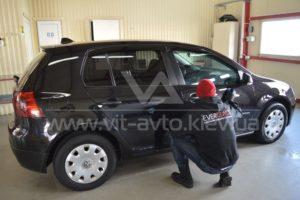 Фото полировки авто Volkswagen Golf 5