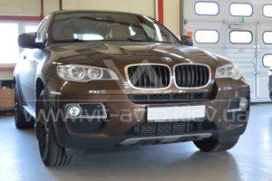 Фото тонировки стекол BMW X6 - 1