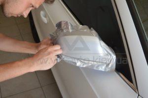 Оклейка зеркал Audi A5 фото 7