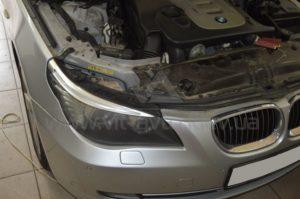 Полировка фар на BMW 5-Series фото 7