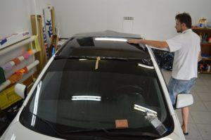 Эффект панорамной крыши Lancer X фото 5