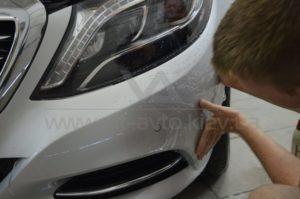 Антигравийная пленка на Mercedes W222 фото 7