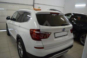 Нанокерамика на BMW Х3 (F25) фото 4