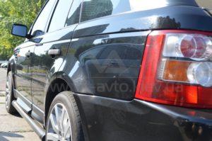 Полировка автомобиля Range Rover фото 5