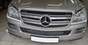 Полировка фар Mercedes GL 500 фото 4