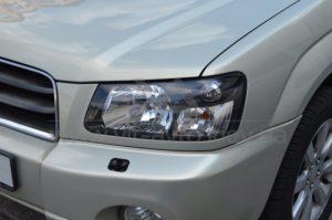 Полировка фар на Subaru Forester фото 3