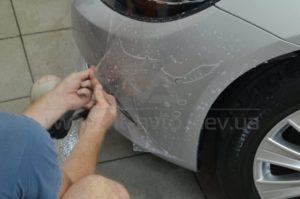 Антигравийная пленка на Mercedes W222 фото 6