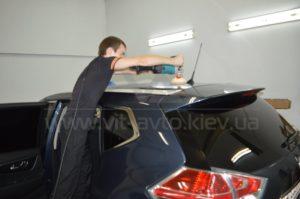 Нанокерамика на Nissan X-Trail фото 4