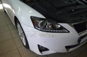 Оклейка фар Lexus IS 250 фото 2