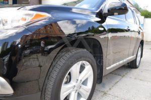Нанокерамика на Toyota Highlander фото 5