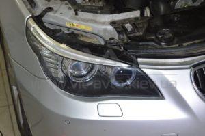 Полировка фар на BMW 5-Series фото 5