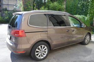 Бронирование стекол Volkswagen Touran фото 3