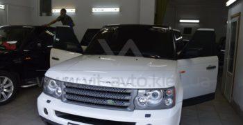 Оклейка винилом на Range Rover фото 4