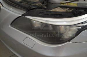 Полировка фар на BMW 5-Series фото 1