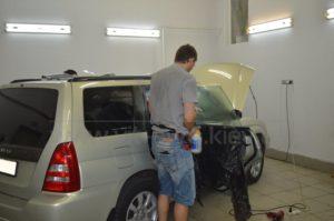 Тонировка стекол на Subaru Forester фото 6