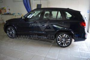 Тонировка на BMW X5 фото 1