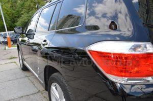 Нанокерамика на Toyota Highlander фото 3
