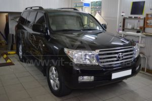 ClearPlex на Toyota Land Cruiser 200 фото 1