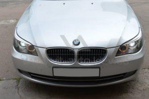 Полировка фар на BMW 5-Series фото 2