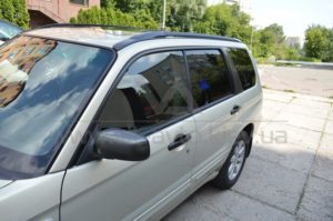 Тонировка стекол на Subaru Forester фото 2