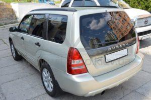 Тонировка стекол на Subaru Forester фото 1