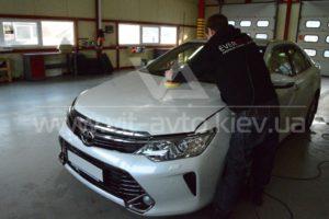 Полировка и керамика Toyota Camry фото 7