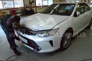 Полировка и керамика Toyota Camry фото 6