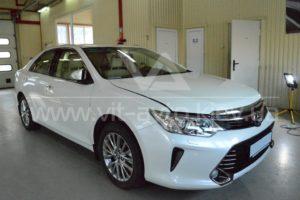 Полировка и керамика Toyota Camry фото 5