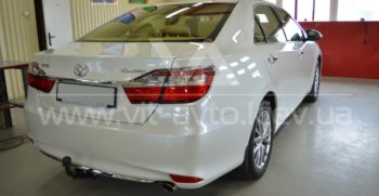 Полировка и керамика Toyota Camry фото 1