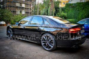 Нанокерамика на Audi S8 фото 6