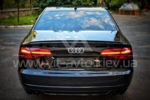 Нанокерамика на Audi S8 фото 3