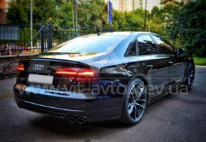 Нанокерамика на Audi S8 фото 2