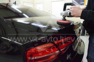 Фото защиты кузова Audi A8 пленкой и керамикой - 2