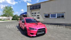 Фото нанокерамики на автомобиль Mitsubishi Lancer Evolution 10 - 1