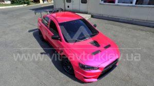 Фото нанокерамики на автомобиль Mitsubishi Lancer Evolution 10 - 2