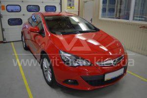 Фото антигравийной защиты кузова Opel Astra GTC - 1