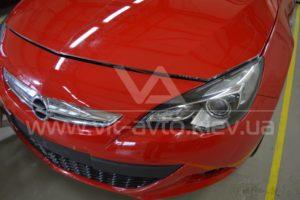 Фото антигравийной защиты кузова Opel Astra GTC - 4