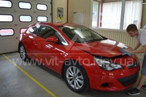 Фото антигравийной защиты кузова Opel Astra GTC - 7