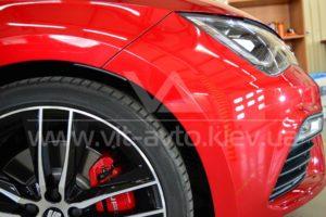 Фото антигравийной защиты кузова Seat Leon - 5