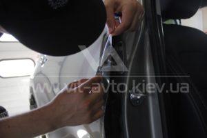 Фото антигравийной защиты кузова KIA Sportage - 4