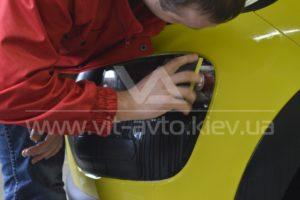 Фото защиты кузова Сitroеn C4 Сactus антигравийной пленкой - 7
